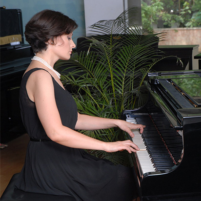 Jagriti Season 2015 Natallia K Kapylova presents Schumann's Carnival Piano