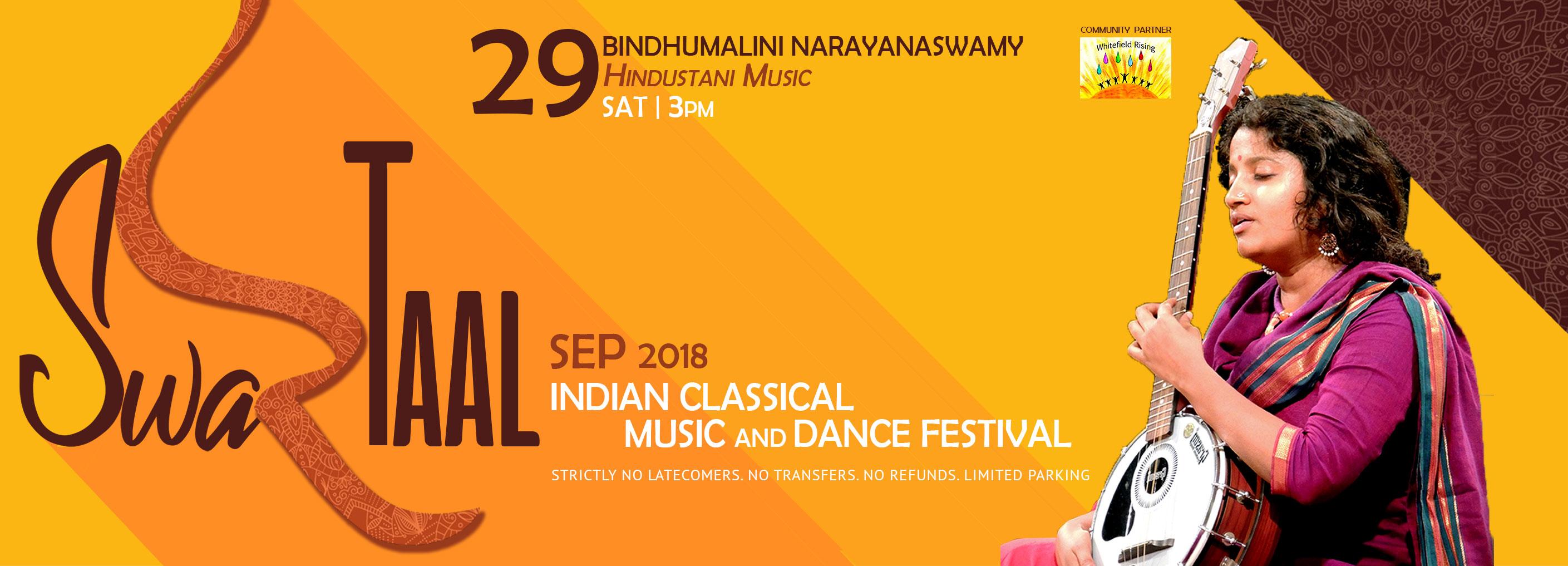 SwarTaal –  Bindhumalini Narayanaswamy