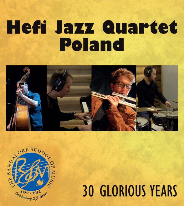 Hefi Jazz Quartet modern jazz