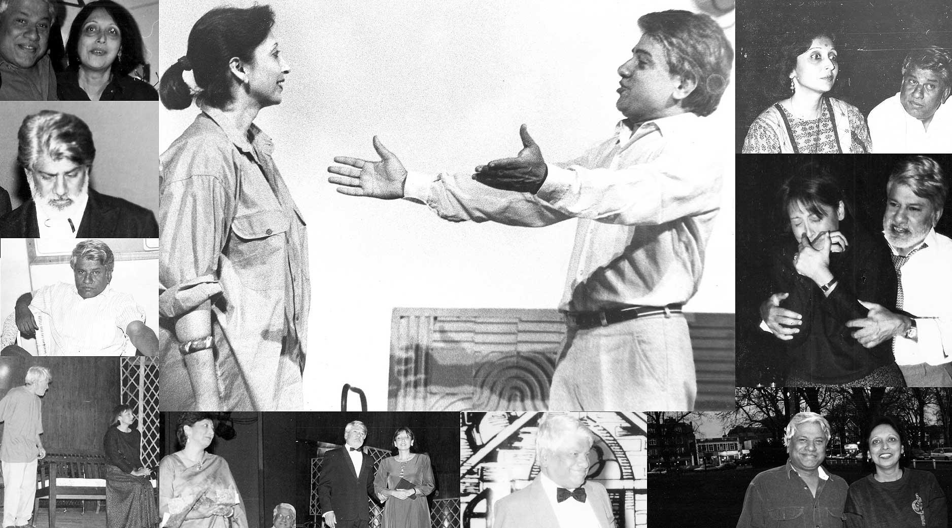 Arundhati and Jagdish Raja