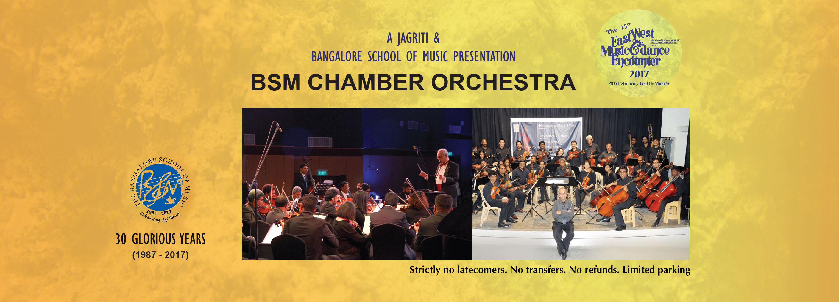 The Bangalore School of Music Chamber Orchestra