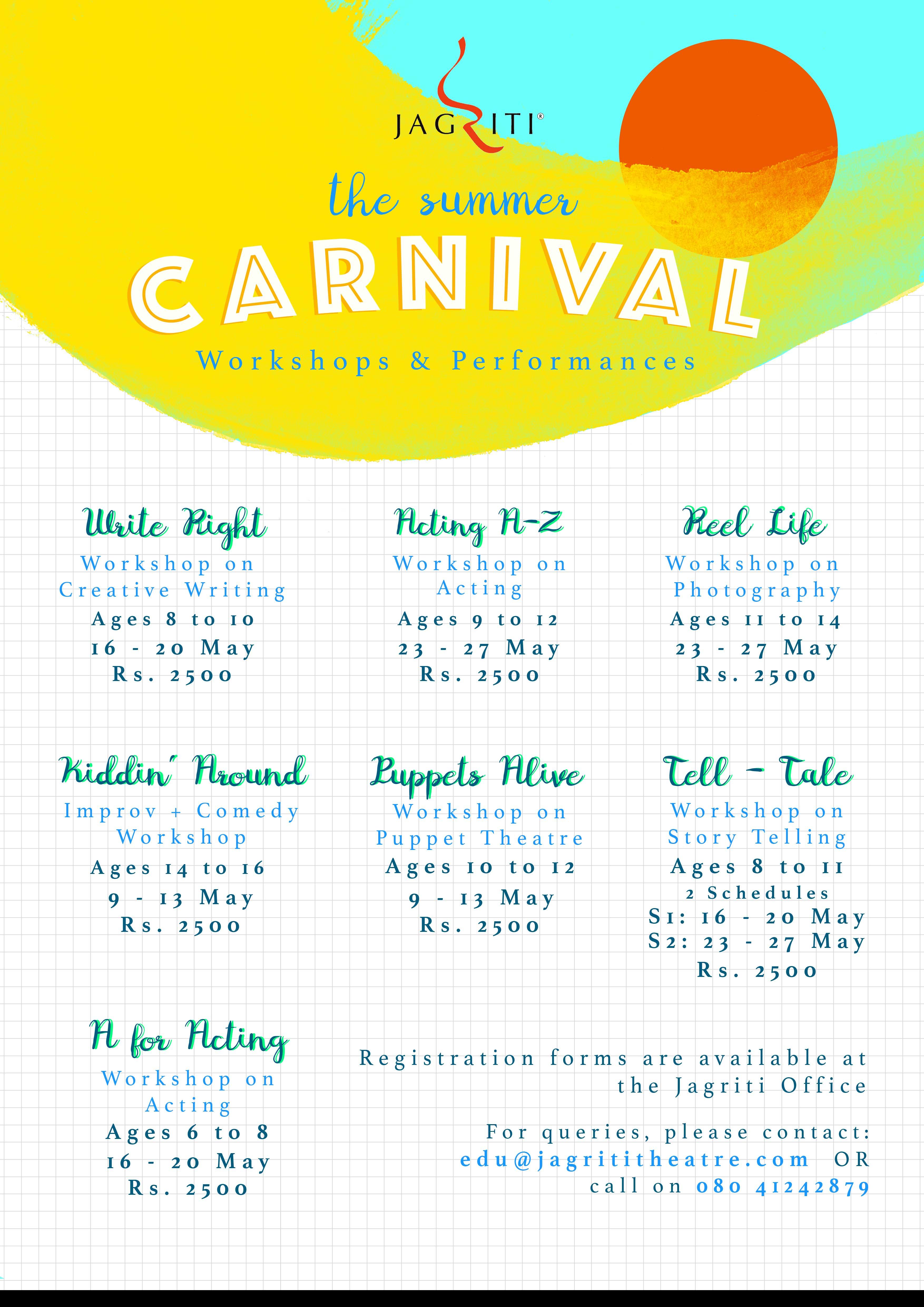 Jagriti Kids Carnival 2016